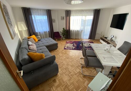Panoramablick Wohnung in Würzburg