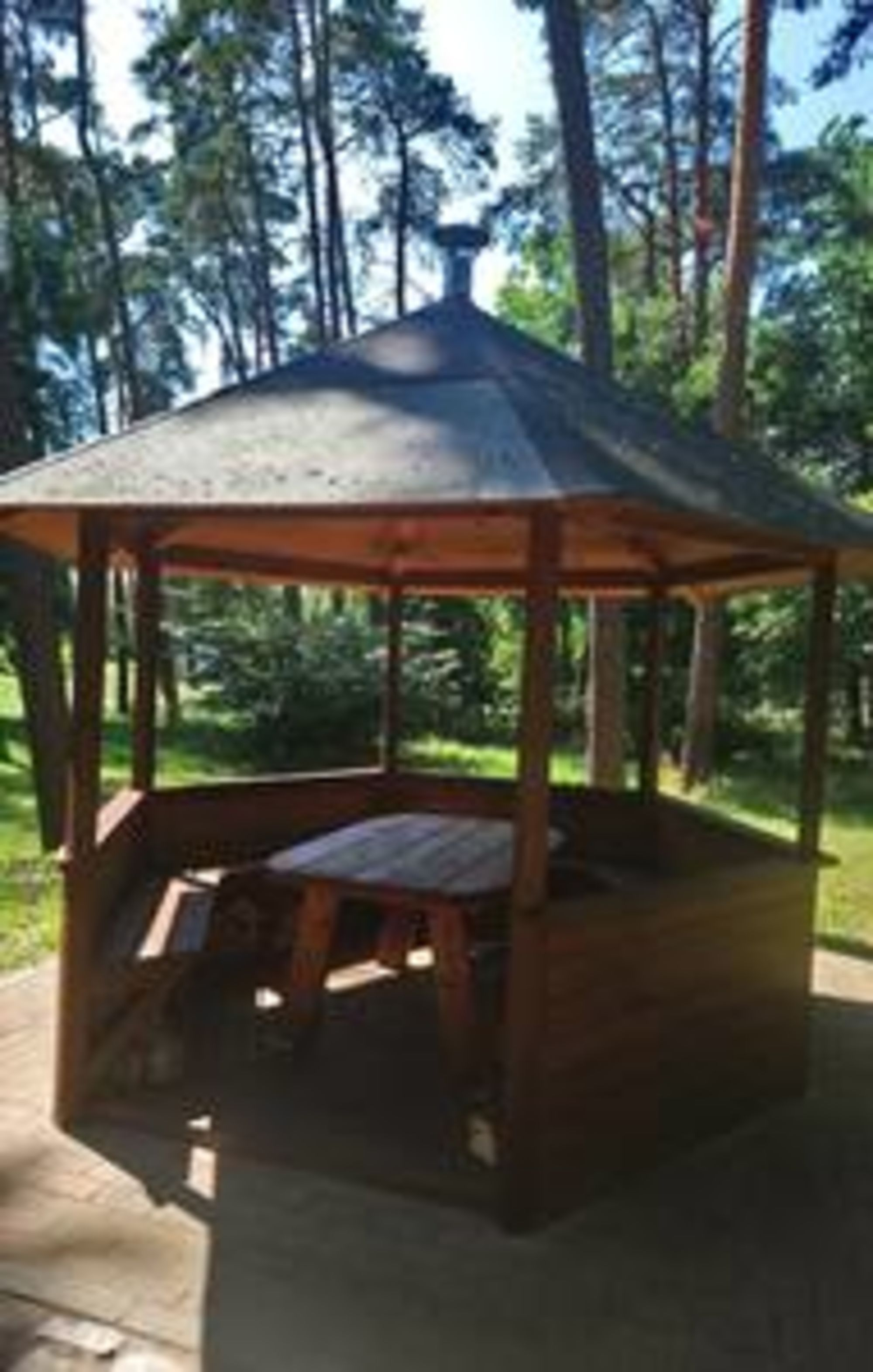 <p>Grillpavillion</p>